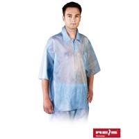 Bluza ochronna z polipropylenu z krótkim rękawem BFI