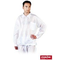 Bluza ochronna z polipropylenu z długim rękawem BFILS