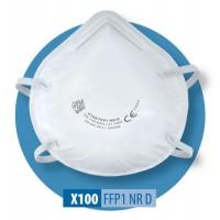 Półmaska filtrująca X 100 FFP1 R D / X 100 FFP1 NR D