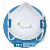 Półmaska filtrująca X 110 FFP1 R D / X 110 FFP1 NR D