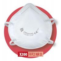 Półmaska filtrująca X 200 FFP2 R D / X 200 FFP2 NR D