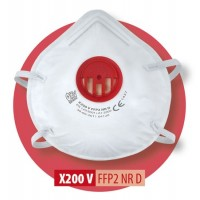 Półmaska filtrująca X 200 V FFP2 R D / X 200 V FFP2 NR D