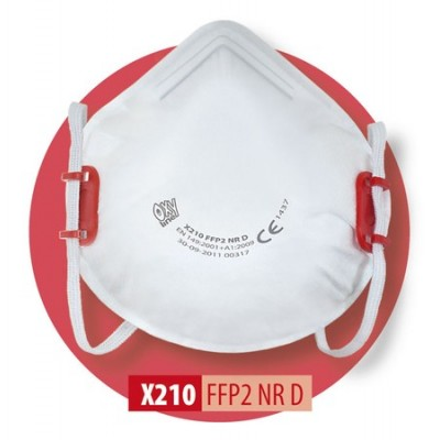 Półmaska filtrująca X 210 FFP2 R D / X 210 FFP2 NR D