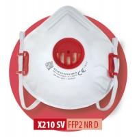Półmaska filtrująca X 210 V FFP2 R D / X 210 V FFP2 NR D