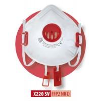 Półmaska filtrująca X 220 SV FFP2 R D / X 220 SV FFP2 NR D