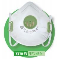 Półmaska filtrująca X 310 SV FFP3 R D / X 310 SV FFP3 NR D