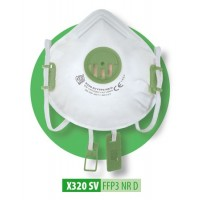 Półmaska filtrująca X 320 SV FFP3 R D / X 320 SV FFP3 NR D