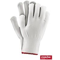 Rękawice ochronne z nylonu ze ściągaczem Rękawice ochronne wykonane z nylonu, zakończone ściągaczem RPOLY