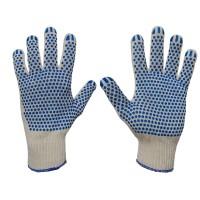 Rękawice bawełniane nakrapiane PCW SWG-D2