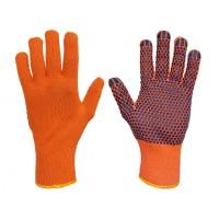 Rękawice bawełniane nakrapiane PCW SWG-SFD