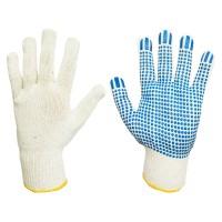 Rękawice bawełniane nakrapiane PCW SWG-SD