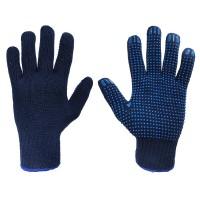 Rękawice bawełniane nakrapiane PCW SWG-GFD