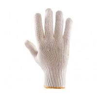 Rękawice dziane nakrapiane PCV