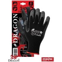 Rękawice ochronne z dzianiny powlekane DRAGON