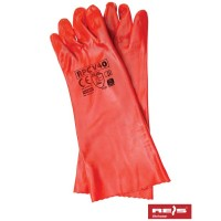 Rękawice ochronne PCV z mankietem RPCV40