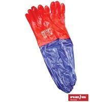 Rękawice ochronne PCV z mankietem RPCV60