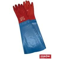 Rękawice ochronne PCV z rękawem RPCV60-FISH