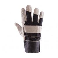Rękawice ochronne wzmacniane skórą PLS-1 JEANS/Ł