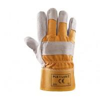Rękawice ochronne wzmacniane skórą PLS-1 LUX/Ż