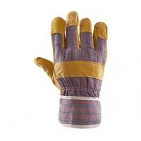 Rękawice ochronne wzmacniane skórą PLS-2