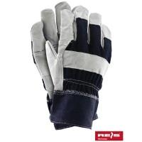 Rękawice ochronne wzmacniane skórą RB