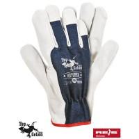 Rękawice ochronne wzmacniane skórą RBTOPER