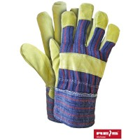 Rękawice ochronne wzmacniane skórą RSC