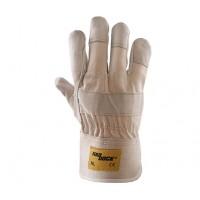 Rękawice ochronne wzmacniane skórą HADDOCK NL LICOWE