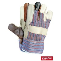 Rękawice ochronne wzmacniane skórą RLKPAS