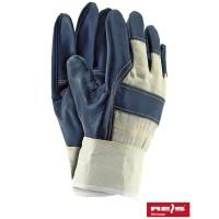 Rękawice ochronne wzmacniane skórą RL