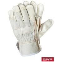 Rękawice ochronne wzmacniane skórą RLJ