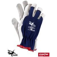 Rękawice ochronne wzmacniane skórą RLTOPER