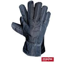 Rękawice ochronne ocieplane drelichowe RDOBOA