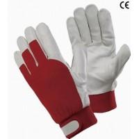 Rękawice ochronne ocieplane ze skóry połączonej z dzianiną GLOPER