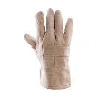 Rękawice termoodporne BAWEŁNIANE TERMO 7 CM