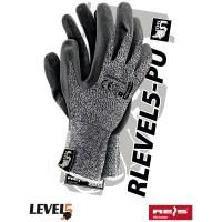 Rękawice antyprzecięciowe RLEVEL5-PU