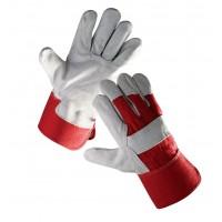 Rękawice ochronne wzmacniane skórą EIDER