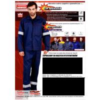 Pan Spawalnik antistatic ubranie trudno zapalne spawalnicze antyelektrostatyczne.