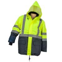 kurtka ostrzegawcza HSV żółta