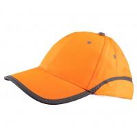 Czapka baseball BRIXTON FLASH ODBLASK pomarańczowa